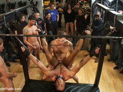 Jessie Colter gets gang banged at Mr S - Unique Bondage - Pic 11