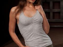Amber Rayne is chained in a dark sanctum, - Unique Bondage - Pic 2