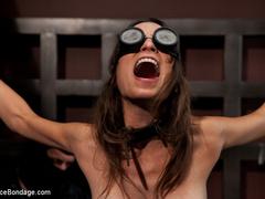 Amber Rayne is chained in a dark sanctum, - Unique Bondage - Pic 9