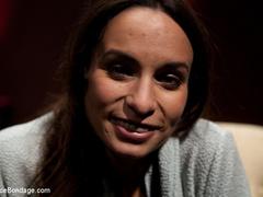 Amber Rayne is chained in a dark sanctum, - Unique Bondage - Pic 10