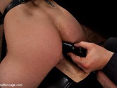 Amber Rayne is chained in a dark sanctum, - Unique Bondage - Pic 11