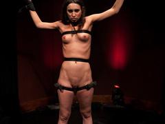 Amber Rayne is chained in a dark sanctum, - Unique Bondage - Pic 13