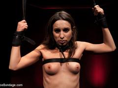 Amber Rayne is chained in a dark sanctum, - Unique Bondage - Pic 15
