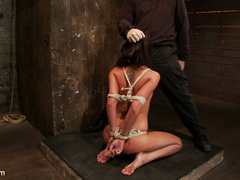 19 yr old girl next door, is severely bound, - Unique Bondage - Pic 5