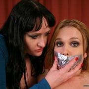 Julie and Natali vibe and ass fuck Sasha - Unique Bondage - Pic 12