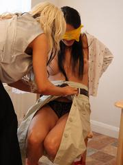 Alex Admas tricks Carmen and ties her up - Unique Bondage - Pic 14