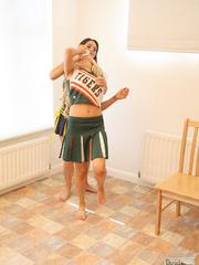 Carmen M humilates Alex Adams - Unique Bondage - Pic 1