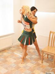 Carmen M humilates Alex Adams - Unique Bondage - Pic 2