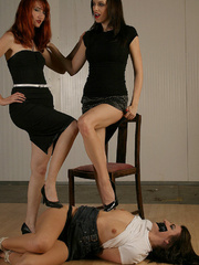 Molly Matthrews, Kendra gag and tie Elle - Unique Bondage - Pic 11
