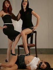 Molly Matthrews, Kendra gag and tie Elle - Unique Bondage - Pic 12