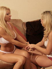 Petra Morgan tied and humilated by Belle - Unique Bondage - Pic 2