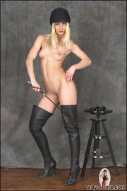 Kinky thigh boots fetish equestrian - Unique Bondage - Pic 1