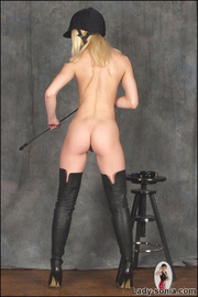 Kinky thigh boots fetish equestrian - Unique Bondage - Pic 3