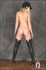 Kinky thigh boots fetish equestrian - Unique Bondage - Pic 15