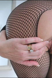 Fishnet catsuit mature dominatrix - Unique Bondage - Pic 8