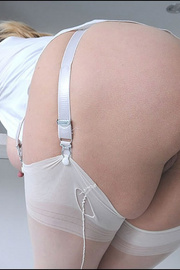 Classy long legs mature nylons wife - Unique Bondage - Pic 12