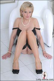 Classic sexy black lingerie mature - Unique Bondage - Pic 12