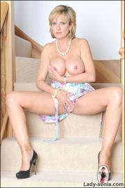 Glamorous leggy british mature babe - Unique Bondage - Pic 11