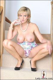 Glamorous leggy british mature babe - Unique Bondage - Pic 13