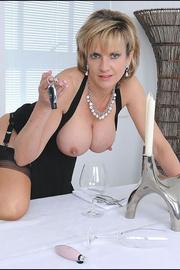 Classy busty nylons mature - Unique Bondage - Pic 7