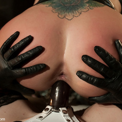 Disobedient slavegirl punished, spanked, and - Unique Bondage - Pic 9