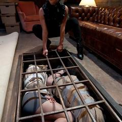 Two promiscuous sluts get captured, punished - Unique Bondage - Pic 2