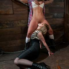 Big titted milf gets punished and fucked by - Unique Bondage - Pic 4
