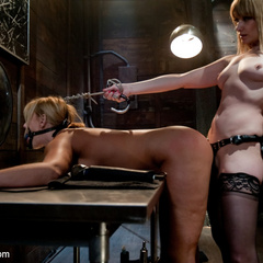 Big titted milf gets punished and fucked by - Unique Bondage - Pic 11