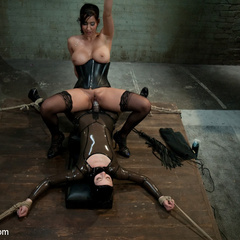 Isis Love teaches newbie sub the value of - Unique Bondage - Pic 10