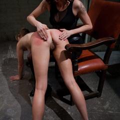 Maitresse Madeline bound, humiliated, fucked - Unique Bondage - Pic 2