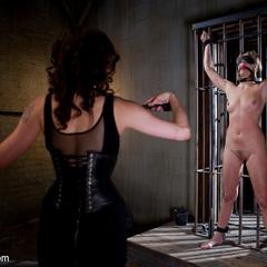 Maitresse Madeline bound, humiliated, fucked - Unique Bondage - Pic 3