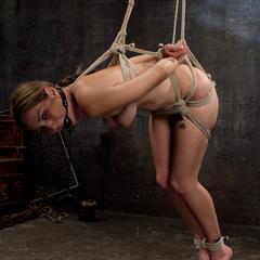 Slavegirl is made to sit on the most - Unique Bondage - Pic 5