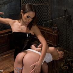 Slavegirl is made to sit on the most - Unique Bondage - Pic 12