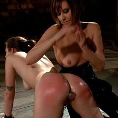 Porn star Kristina Rose and amateur Missy - Unique Bondage - Pic 8