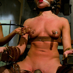Sexy hard bodied nurse is tied up, subjected - Unique Bondage - Pic 15