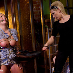 Hot blond dominates, punishes, humiliates - Unique Bondage - Pic 2