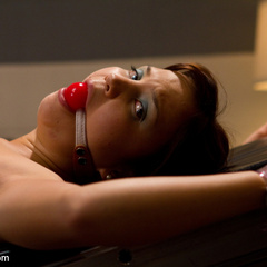 18 yo candy striper is introduced to kinky - Unique Bondage - Pic 10