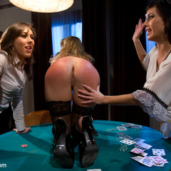 Sexy MILF boss is punished and fucked by two - Unique Bondage - Pic 12