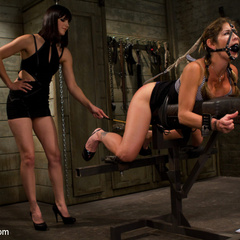 Hot dominatrix is put in her place, brutally - Unique Bondage - Pic 2