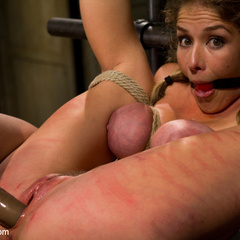 Hot dominatrix is put in her place, brutally - Unique Bondage - Pic 5
