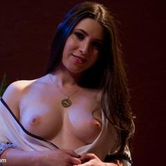 Submissive slut faces her fears in a kinky, - Unique Bondage - Pic 11