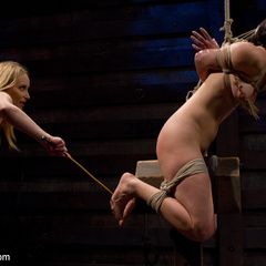 Bobbi Starr submits live to Aiden Starr - Unique Bondage - Pic 6