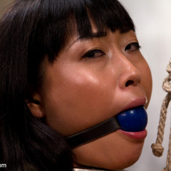Adroable Asian sub slut is spanked, tit - Unique Bondage - Pic 6