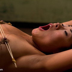 Adroable Asian sub slut is spanked, tit - Unique Bondage - Pic 8