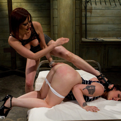 Curvy 20 year old is pushed to her threshold - Unique Bondage - Pic 9