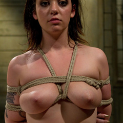 Curvy 20 year old is pushed to her threshold - Unique Bondage - Pic 10