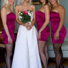 Cherry Torn gets hijacked by her bridesmaids - Unique Bondage - Pic 1