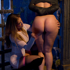 Sinn Sage gets spanked and gang banged by - Unique Bondage - Pic 5