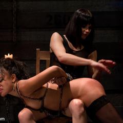 Annie Cruz is tortured with her own orgasms. - Unique Bondage - Pic 6