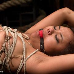Annie Cruz is tortured with her own orgasms. - Unique Bondage - Pic 7
